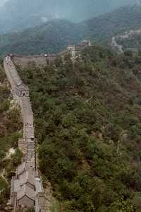 Die Mauer (The Great Wall) bei Mutianyu